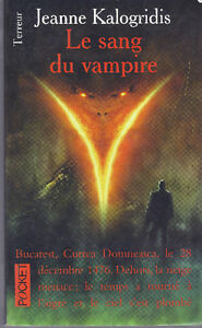 Le Sang du Vampire - Collection Presse Pocket Terreur # 9258