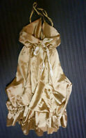 Shiny Gold Dress - Size Small