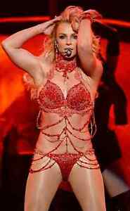 Britney Spears billboard outfit inspired Belly Dance costume
