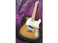 Fender USA telecaster with Seymour Duncan lil 59 bridge pu