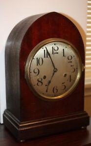 "ANTIQUE GERMAN ""wurttemberg clock"" - WORKS GREAT"