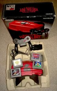 Virtual Boy Nintendo System Console Japan Boxed
