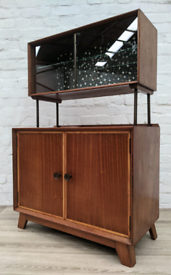 Mid Century Cocktail Cabinet (DELIVERY AVAILABLE)