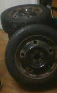 Cheap Winter tires with rim Calls dont message