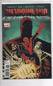 DAREDEVIL 508-512, SHADOWLAND 1-5, REBORN 1-4 ALL NM/M