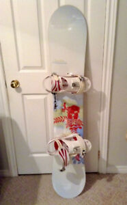 Snowboard - Burton- (Women's) - Boots, Bindings & Bag