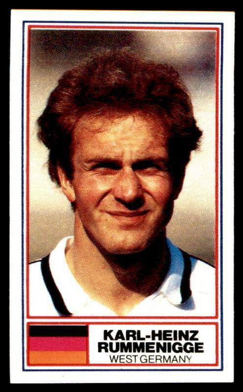 Rothmans - Football International Stars 1984 – Rummenigge (west Germany)