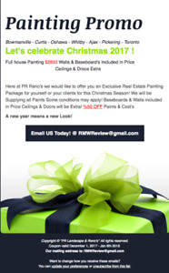 Painting Durham Region $2850 Paint included!