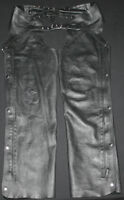 Womans Leather Motorcycle Chaps