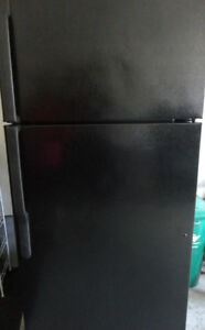 GE Fridge Black in Great Condition