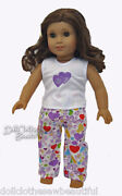 American Girl Doll Pajamas