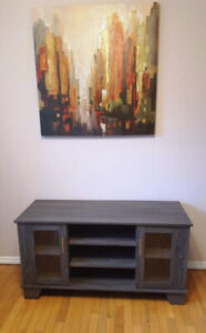"""Brand New Insignia TV stand for up to 50"""" TV - assembled"""