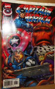 Captain America Marvel Comics Modern Age 1990s - 8 Comics Avail.