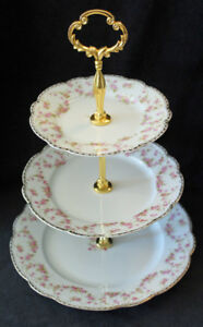 VINTAGE TIERED CAKE STANDS