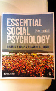 Essential Social Psychology 3rd edition