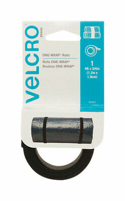 Velcro Hook and Loop Fastener 3/4 inch Wide 48 in. Long One wrap Strap