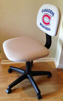Montreal Canadiens - Grey Swivel Office Task Chair - for desk
