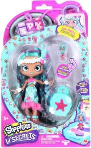 Shopkins Shoppies Lil Secrets Sia Shell and Tia Tigerlily & more