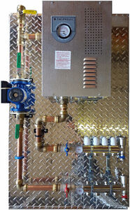 electric radiant hydronic floor heat system easy install