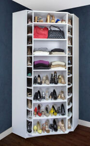 ♥‿♥ ...SHOE CAROUSEL - Stores 228 pairs of shoes... ♥‿♥