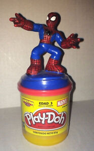 NEW!! ~ Marvel Spider-Man Play-Doh FIGURINE 80gr Modling Clay
