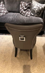 Nailhead (Studded) Set of 4 Dining Chairs