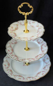 VINTAGE TIERED CAKE STANDS FOR SALE