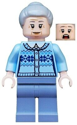 Lego Aunt May minifigure (sh544) from Marvel Super Heroes set 76115 Brand New!