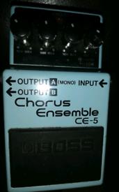 Boss CE-5 fx pedal
