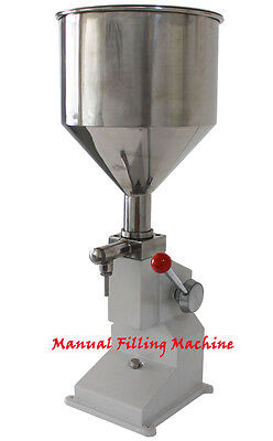 New 550ml Manual Filling Machine For Cream Shampoo Cosmeticliquid Filler