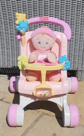 Push chair baby walker