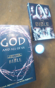 The Bible DVD + A Story of God And All Of Us, Downey and Burnett