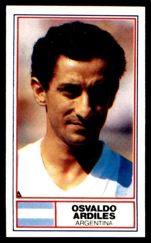 Rothmans - Football International Stars 1984 - Ossie Ardiles (argentina)