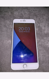 Apple iPhone 6s Plus 64GB Silver O2 NETWORK, GRIFFITHS, TESCO MOBILE