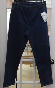 FDJ French dressing leggings/jeans Size 16 elastic waist NEW