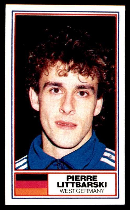 Rothmans - Football International Stars 1984 - Pierre Littbarski (west Germany)