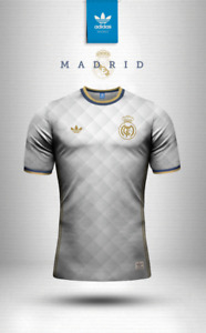 Real Madrid Adidas Originals training soccer jersey