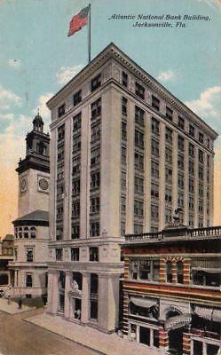 Postcard Atlantic National Bank Building Jacksonville Fl
