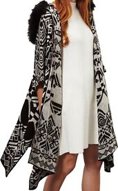 Hooded Miss Selfridge Poncho