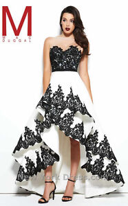 Macduggal Couture High-low Grad/prom/evening Dress Size 4