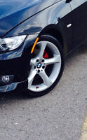 """Mint BMW style 230 19"""" staggered rims"""