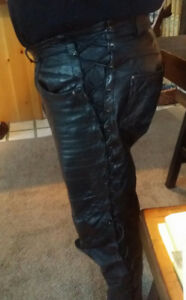 Leather Bike Pants for sale