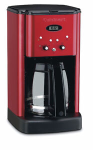 *AS NEW* Cuisinart metallic candy apple red coffee maker