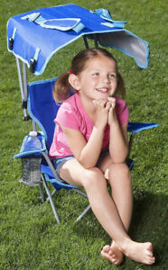 Kids Canopy Chair / Beach & Camping / Kelsyus / CARRY CASE / NEW