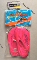 New Pink Pool slippers size 6, good for 2-3 years old girl.
