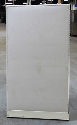 """CUBICLE PARTITION, 36"""" WIDTH x 64"""" HEIGHT, FABRIC COVERING, LIGHT BEIGE"""
