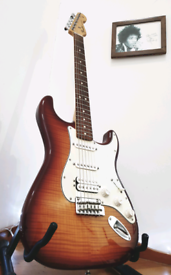 Fender Stratocaster Deluxe Plus-Top Electric Guitar