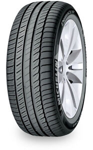 Four Michelin primacy HP tires