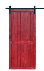 New Rustic Sliding Barn Door & Barn Door Hardware Cambridge Kitchener Area image 1