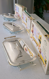 Silverplated Serving Dishes